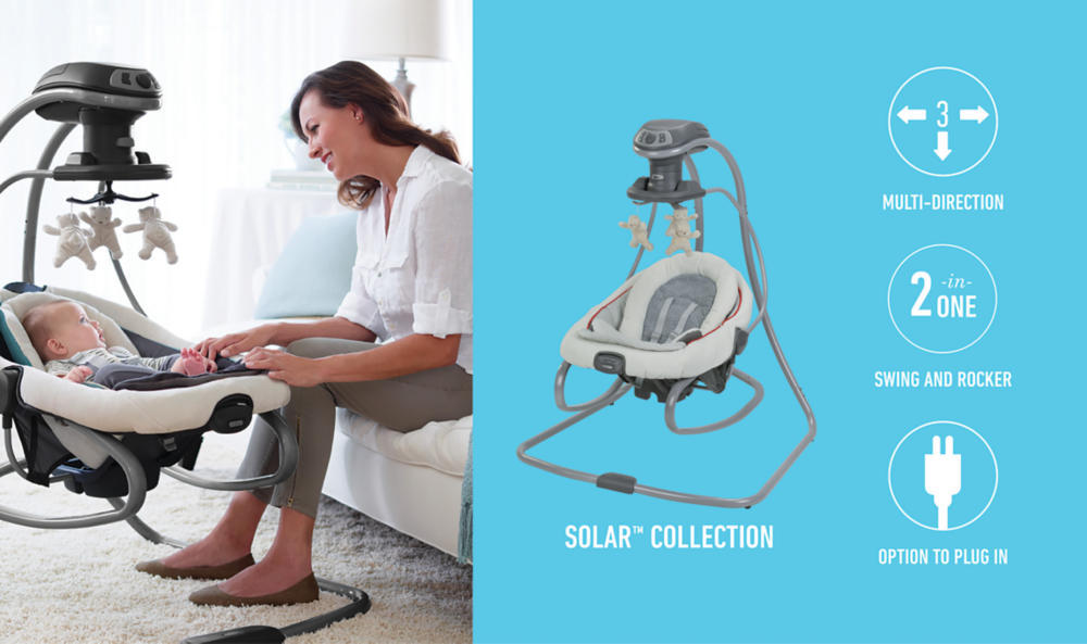 727ec3befa81 Graco® DuetSoothe™ Swing and Rocker in Solar™