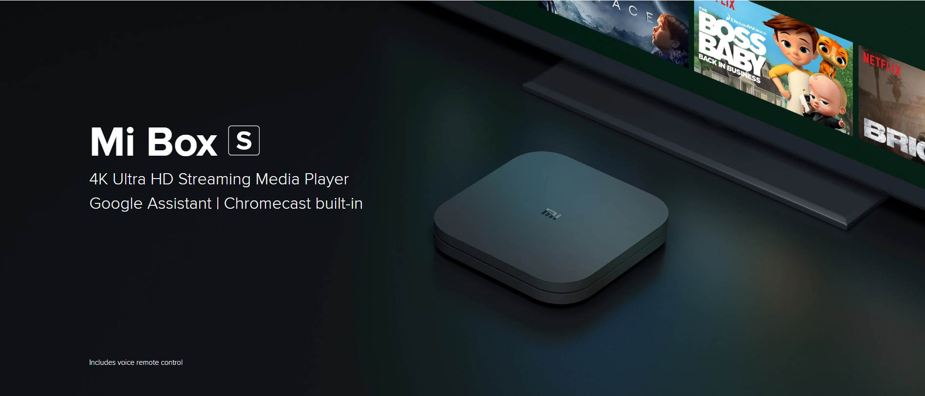 mi box S, android tv box, media player