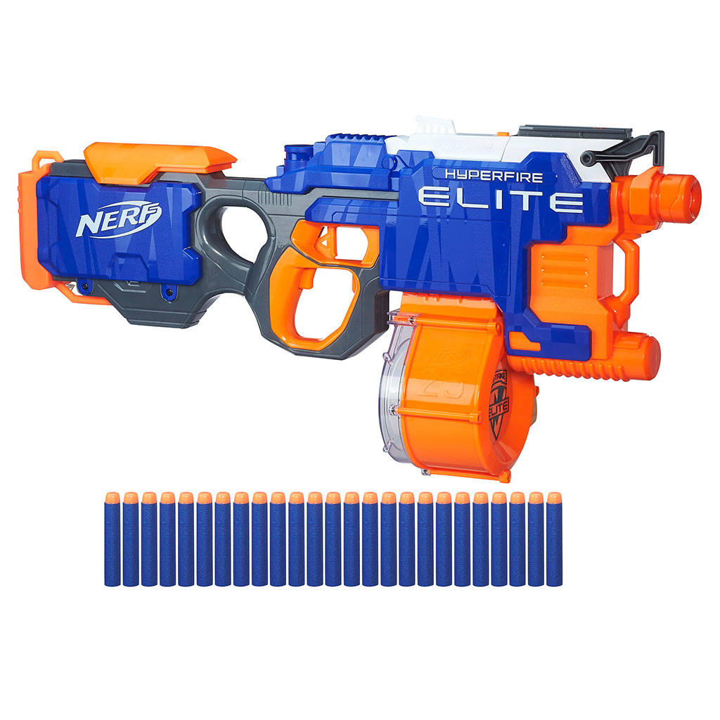 Blasters combat toys kids toys george at asda nerf n strike elite hyperfire blaster stopboris Choice Image