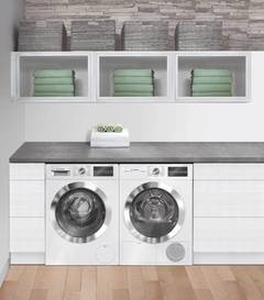 "Bosch 24"" Compact Washer - 800 Series - White/Chrome"