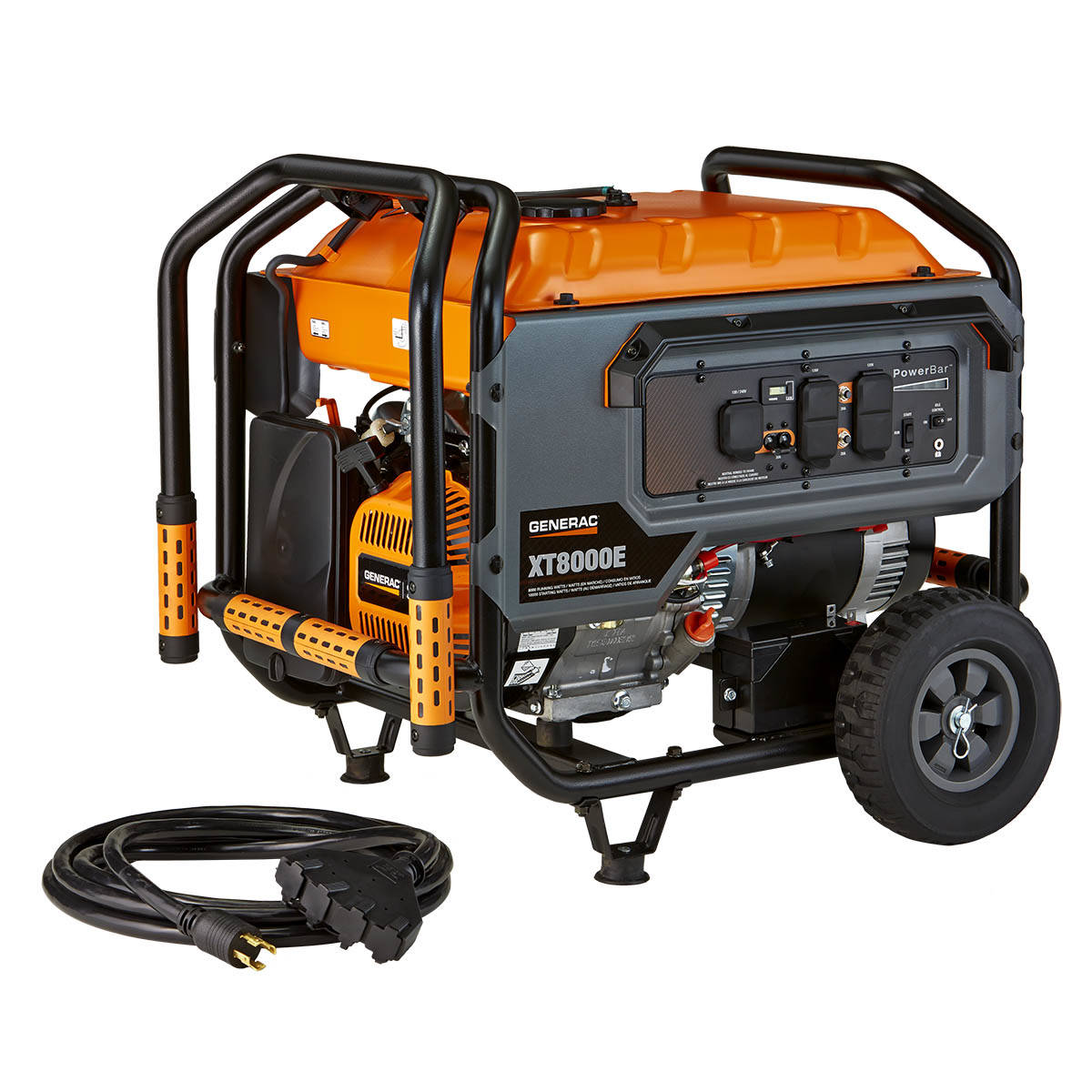 portable generators. Generac XT 8000-Running-Watt Portable Generator With Engine Generators N