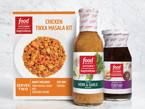 Food Network Kitchen Inspirations Chicken Tikka Masala Meal Kit 8 Oz