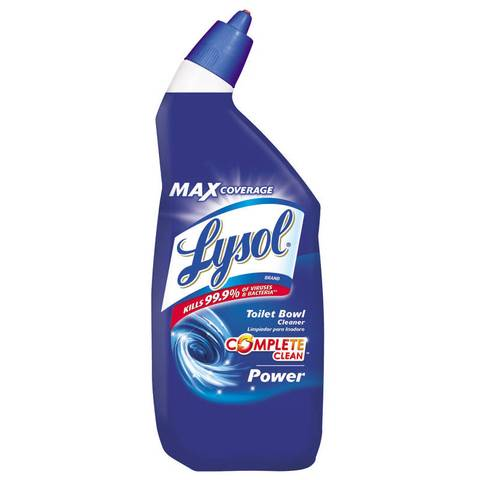 lysol power toilet bowl cleaner, 24 ounce - walmart