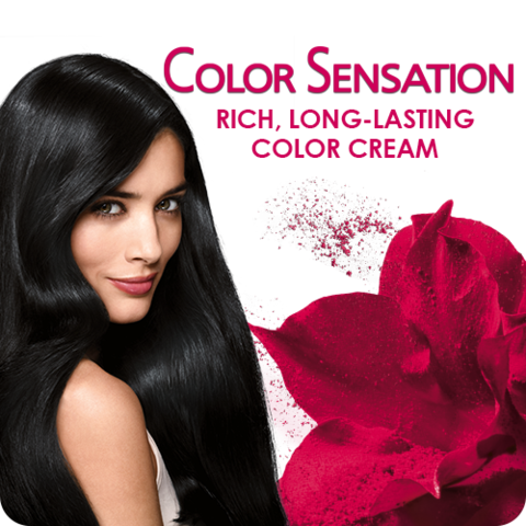 be sensational with garnier color sensation - Colores Garnier