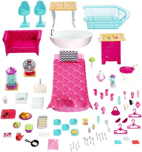 Barbie dream house target for Accessory house