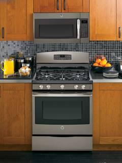 JVM6175EFESS over-the-range microwave oven featured in Slate.