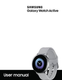 Samsung Galaxy Watch Active (40mm) SM-R500NZKAXAR - Black - Newegg com