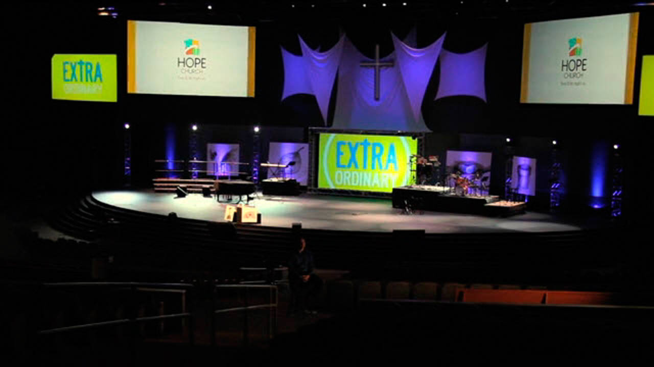Pro Z Series Projectors - Hope Church Testimonial