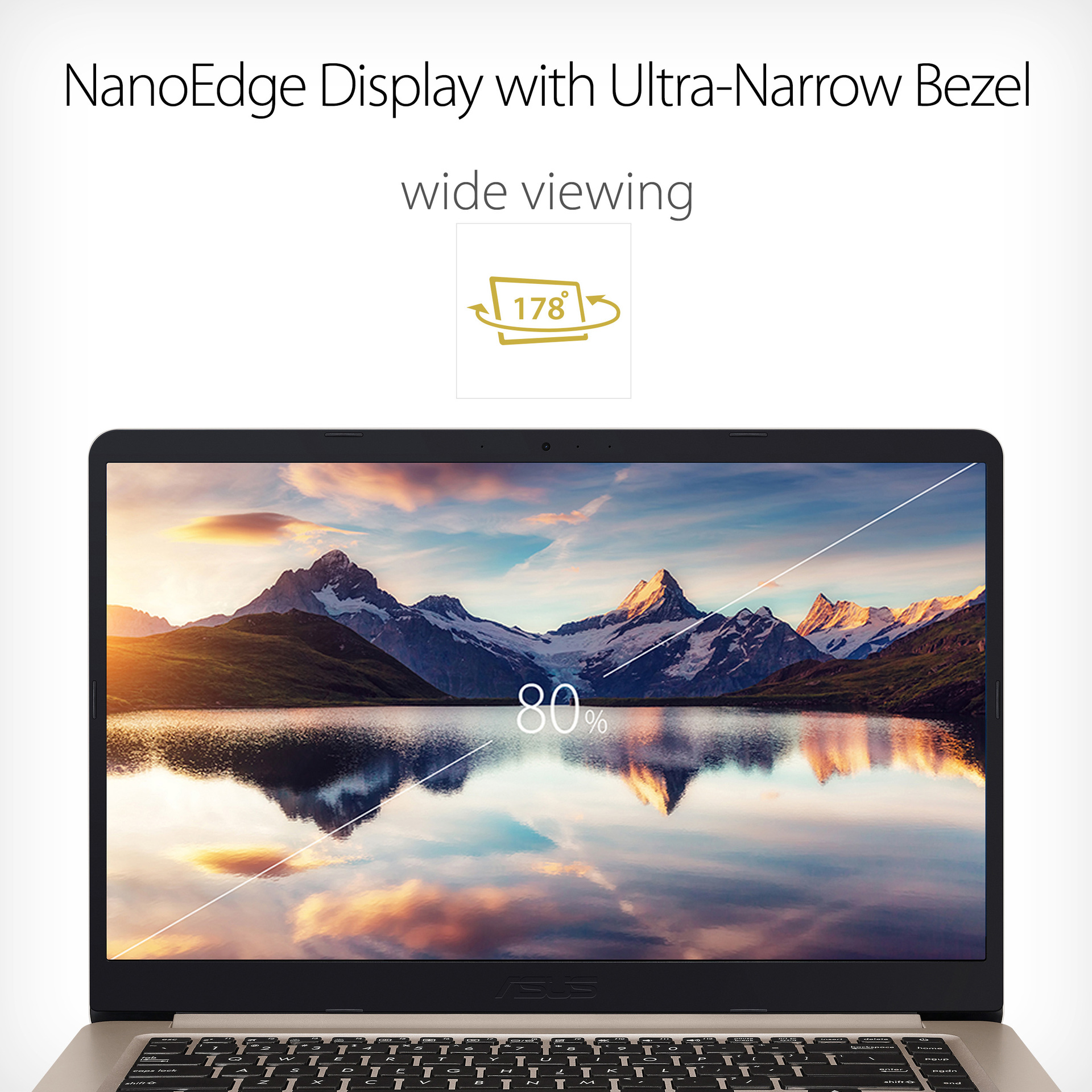 NanoEdge Display with Ultra Narrow Bezel