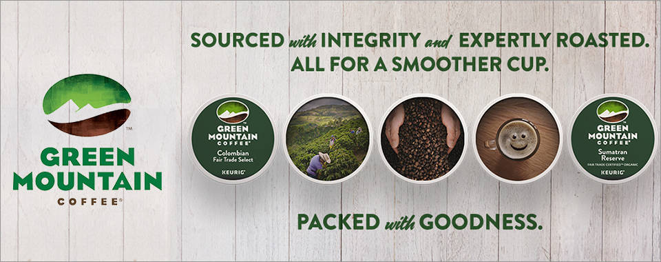 Green Mountain Coffee - Single-serve Keurig K-Cup pods packed with goodness