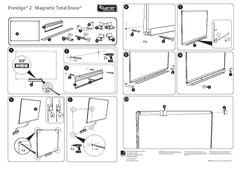 View Prestige® 2 Total Erase® Magnetic Whiteboard Installation Guide PDF