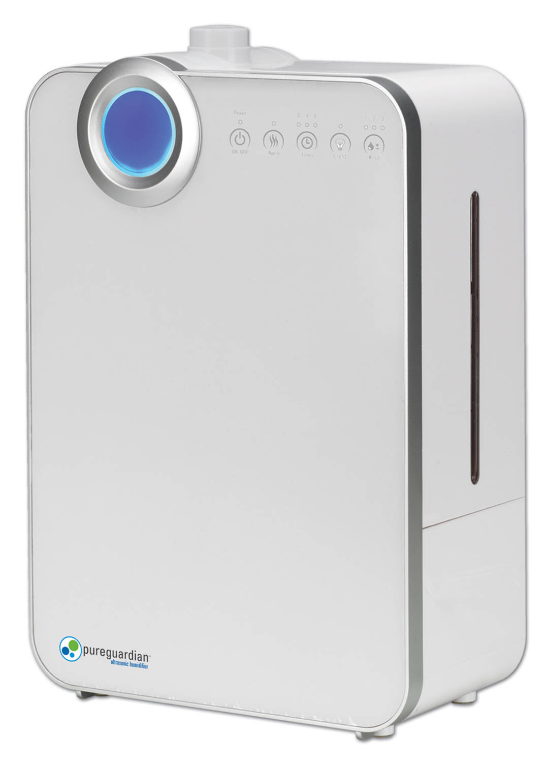 Pureguardian 90 Hour Ultrasonic Humidifier with Humidistat White  #2C7E9F