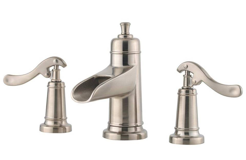 Brushed Nickel Ashfield Single Control, Centerset Bath Faucet - GT42 ...