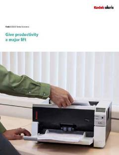 View Kodak i3000 Series Scanner Brochure PDF