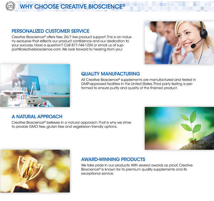 1234 Diet Drops Why Choose Creative Bioscience
