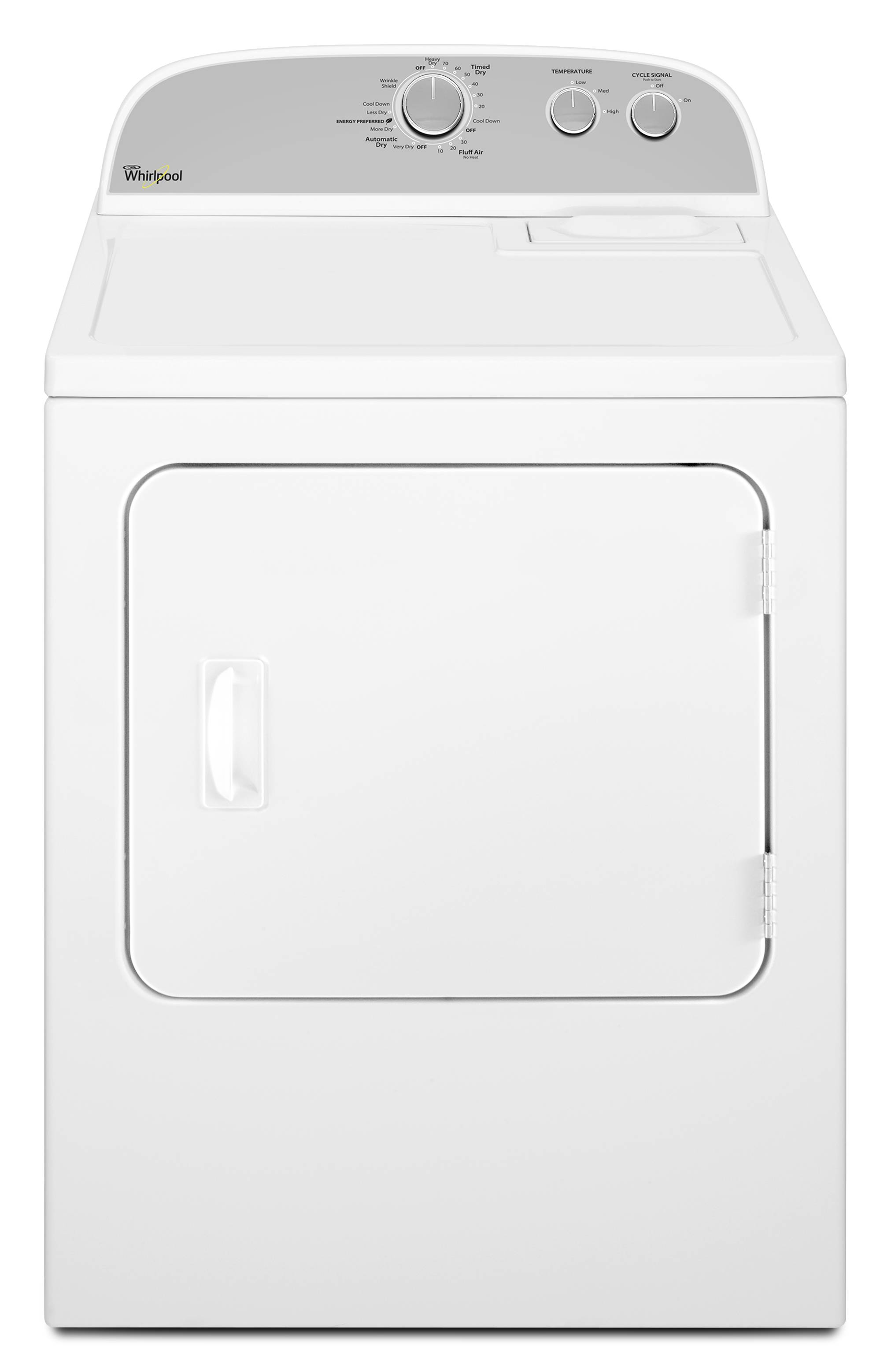 Whirlpool 7 Cu Ft Electric Dryer White While Supplies Last