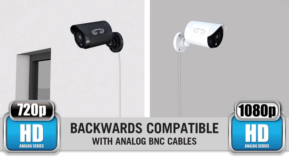 Backwards-Compatible with Analog BNC Cables