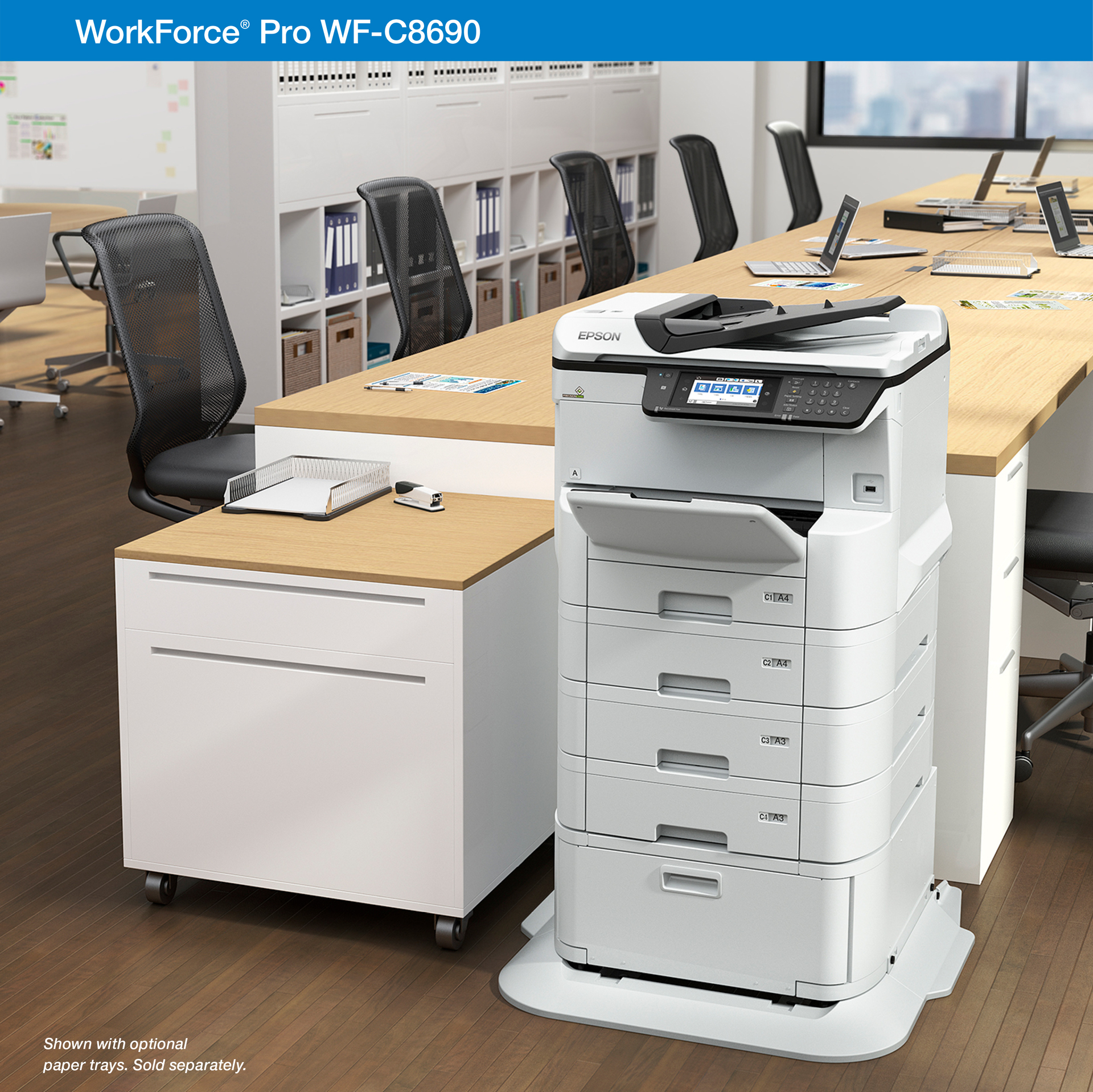 Epson WorkForce Pro WF-C8690 - multifunction printer (color