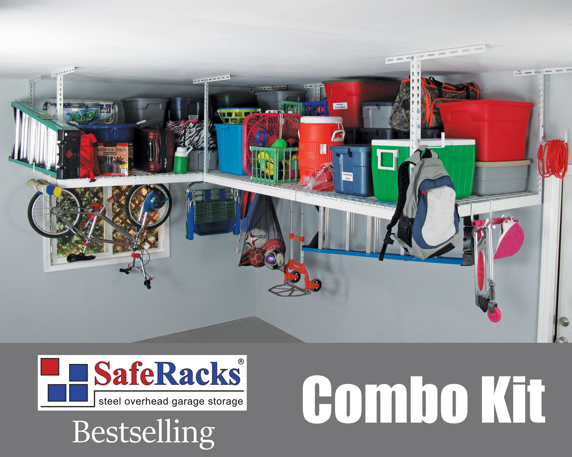 These High Quality Storage Racks Help To Make Your Garage A More Functional E For Vehicles And Toys Saferacks Is Designed First Foremost