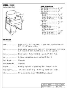 View VL653 Spec Sheet PDF
