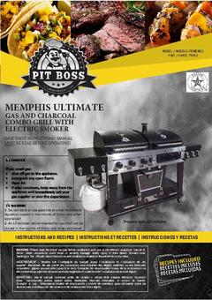 Pit Boss Memphis Ultimate Manual
