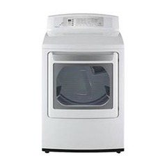 LG 7 3-cu ft Electric Dryer (White) at Lowes com