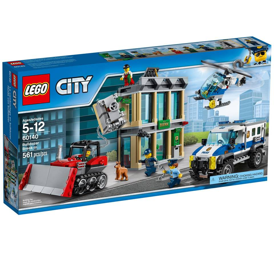 Lego City Police Bulldozer Break In 60140 Target