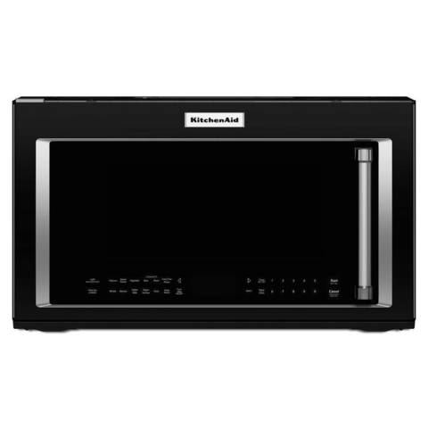 Kitchenaid Convection Microwave Over The Range shop kitchenaid 1.9-cu ft over-the-range convection microwave with