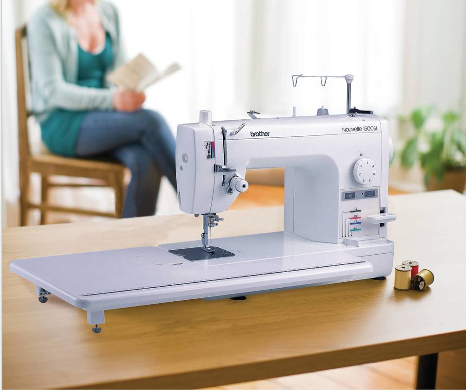 Brother PQ40SL Straight Stitch Sewing Machine JOANN Awesome Brother Sewing Machine Table