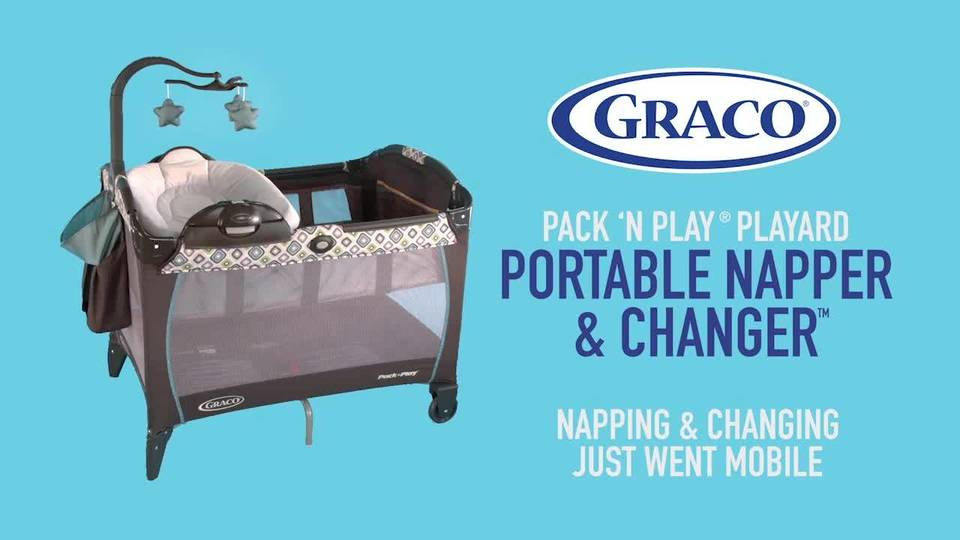 afe0416cd9bb8 Graco Pack  n Play Portable Napper   Changer Playard