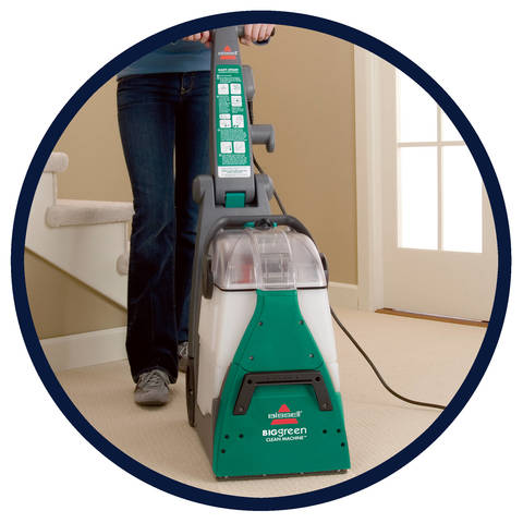 why deep clean bissell carpet cleaners