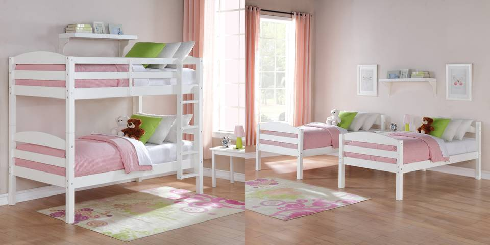 bunks or twin beds your choice