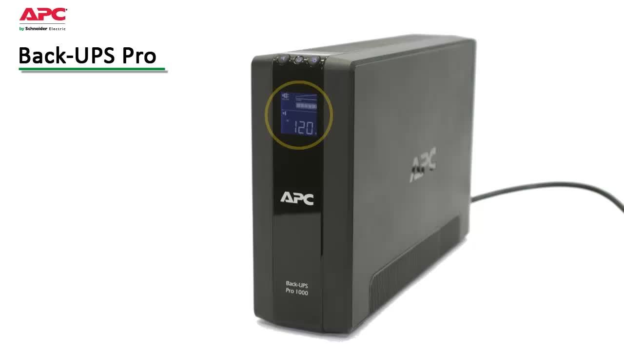 APC BR1500G Back-UPS Pro 1500 VA 10 outlets Uninterruptible Power Supply  (UPS) - Newegg com