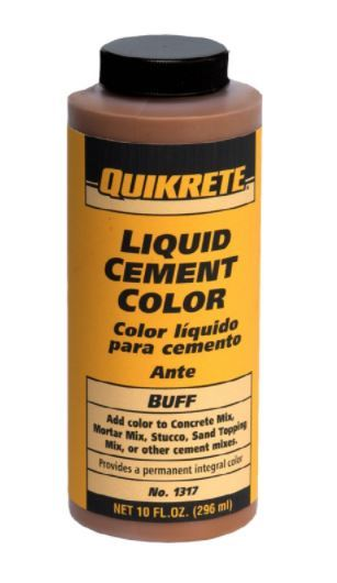 Quikrete Liquid Cement Color No 1317 Is A Coloring Agent Used To Customize The Of Your Concrete Project Mix With Water And Then Add Dry