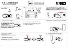 View Jacket H20 3 Quick Start Guide PDF