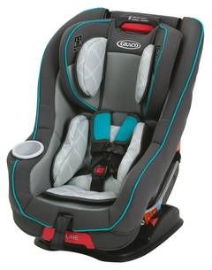 Graco 4Ever Extend2fit All In One Convertible Car Seat Clove MyRide 65 Go Green Contender