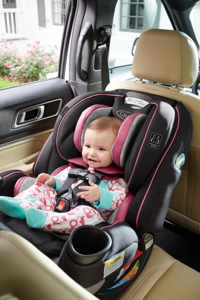 45f467ee5e913 The Graco® 4Ever™ Extend2Fit™ 4-in-1 Convertible Car Seat gives you 10  years with one car seat.