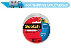 3850 Scotch® Heavy-Duty Packaging Tape