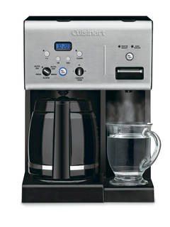 Cuisinart 12 Cup Programmable Coffee Maker & Hot Water System - Stainless Steel CHW-12 : Target
