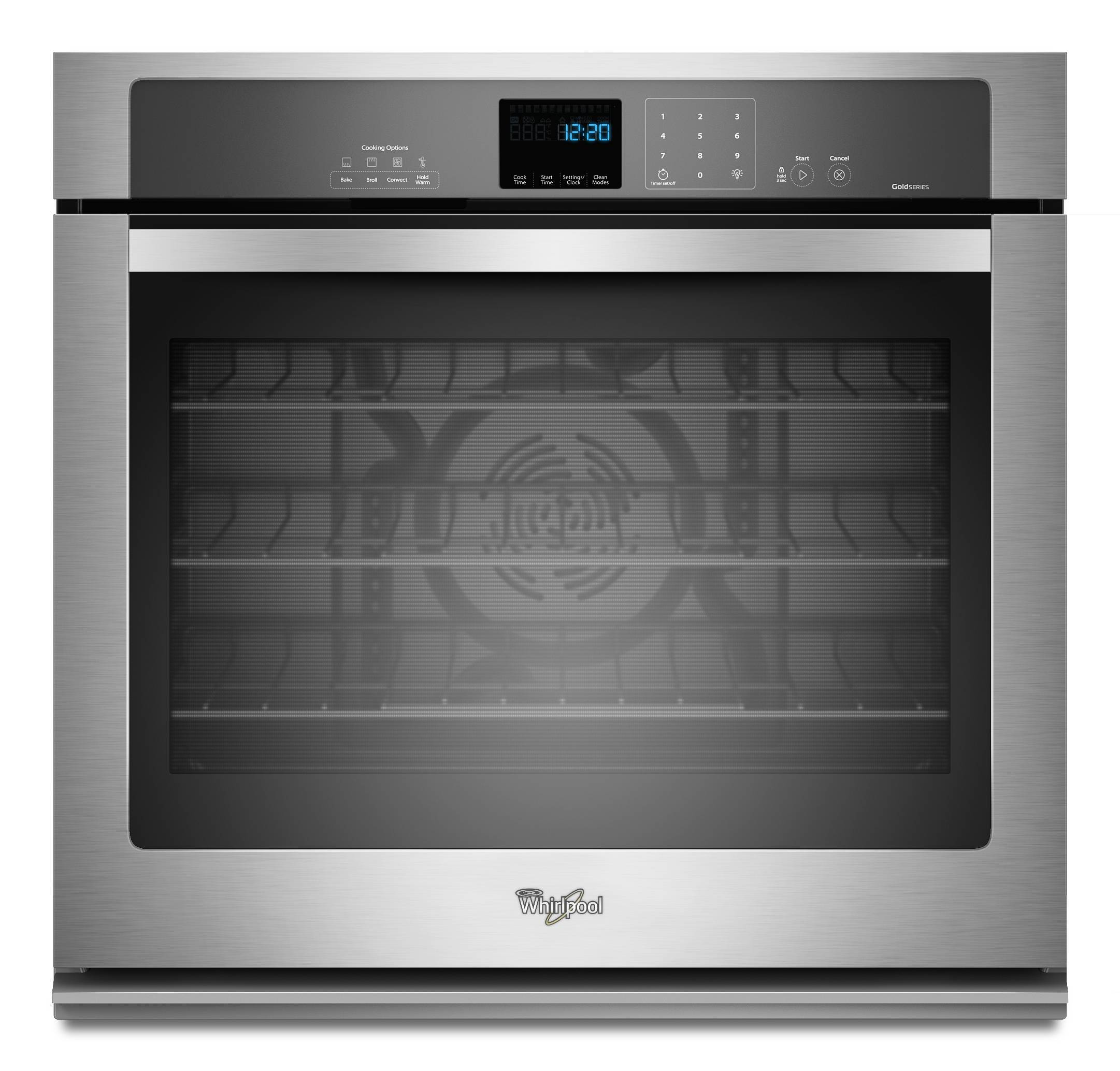Shop single electric wall ovens at lowes whirlpool self cleaning true convection single electric wall oven stainless steel common planetlyrics Image collections
