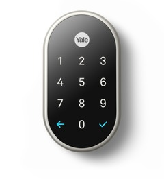 Nest x Yale Lock (Satin Nickel)