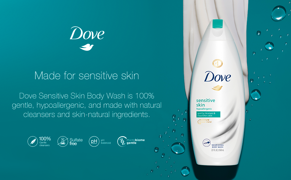 Dove Body Wash Nourishing Sensitive Skin Unscented Bar Soap Body Wash Chief Markets