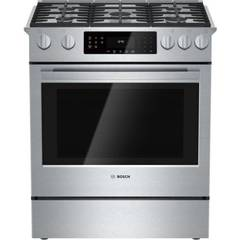 "30"" Gas Slide-in Range, HGI8054UC, Stainless Steel"