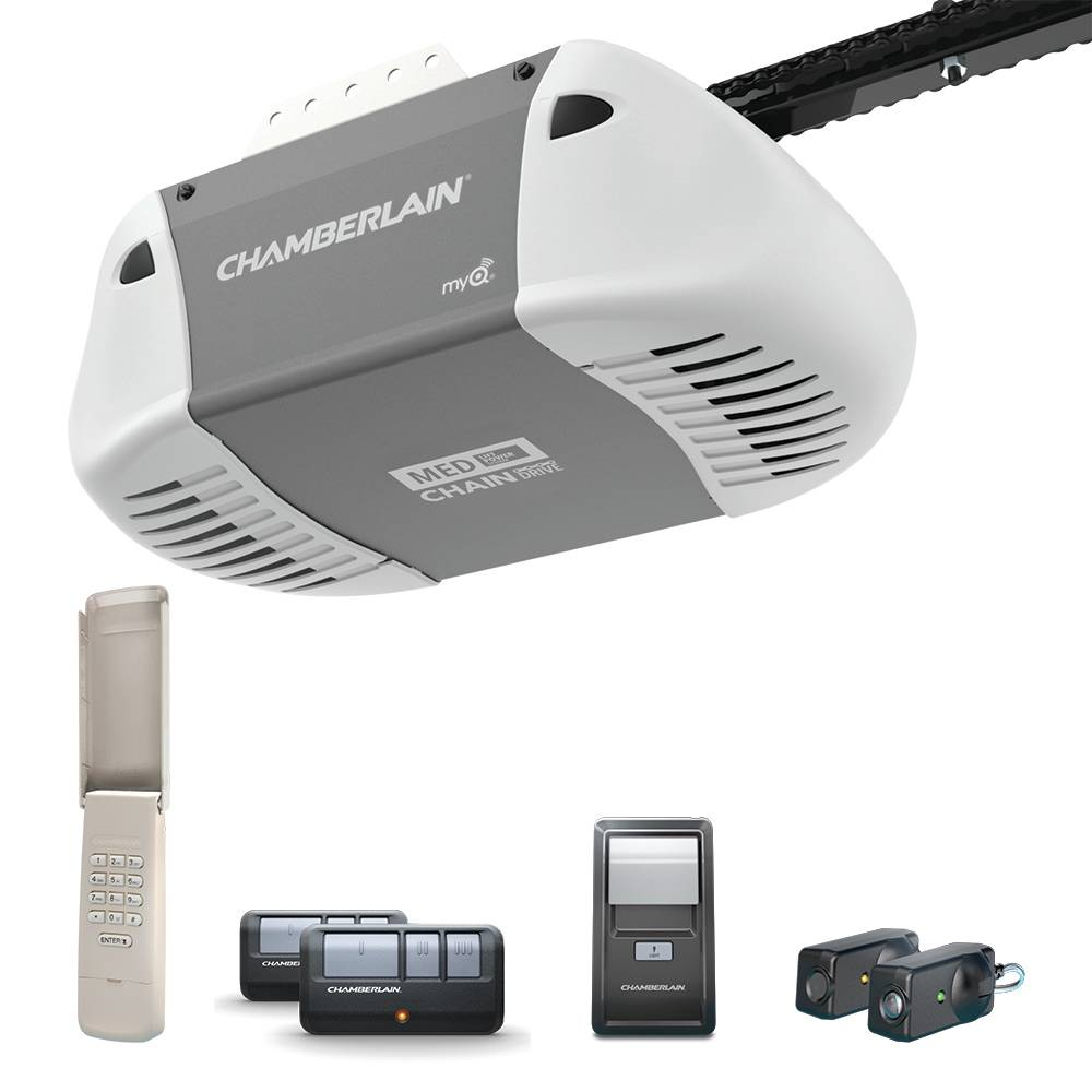 Chamberlain 0.5 HP Chain Drive Garage Door Opener
