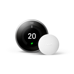 Nest Temperature Sensor works with the Nest Learning Thermostat 3rd Generation