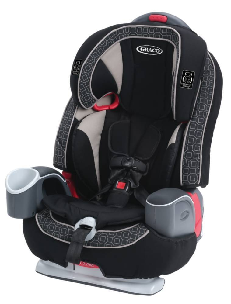 Graco Atlas 65 2-in-1 Harness Booster Car Seat, Glacier Black - Evenflo Advanced Chase LX Reviews | Babyjourney