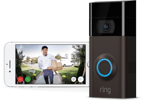 Ring Video Doorbell 2 Satin Nickel or Venetian Wireless