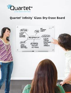 View Infinity™ Glass Magnetic Dry-Erase Board Product Brochure PDF