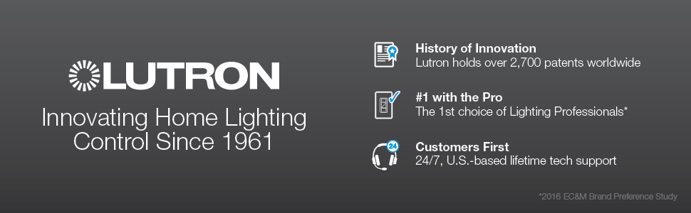 Lutron Maestro 150-Watt Multi-Location White LED Dimmer at