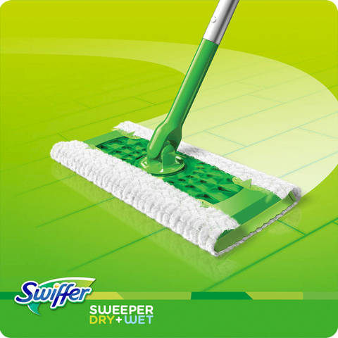 Swiffer Sweeper Dry Wet Floor Mop 11 Pc Starter Kit